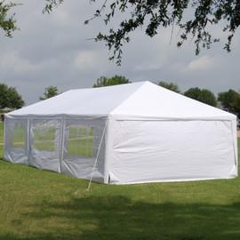 PE Tent - 15'x30' White Wedding Party Tent