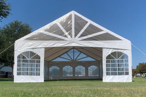 40'x20' PVC Marquee - Heavy Duty Party  Wedding Tent