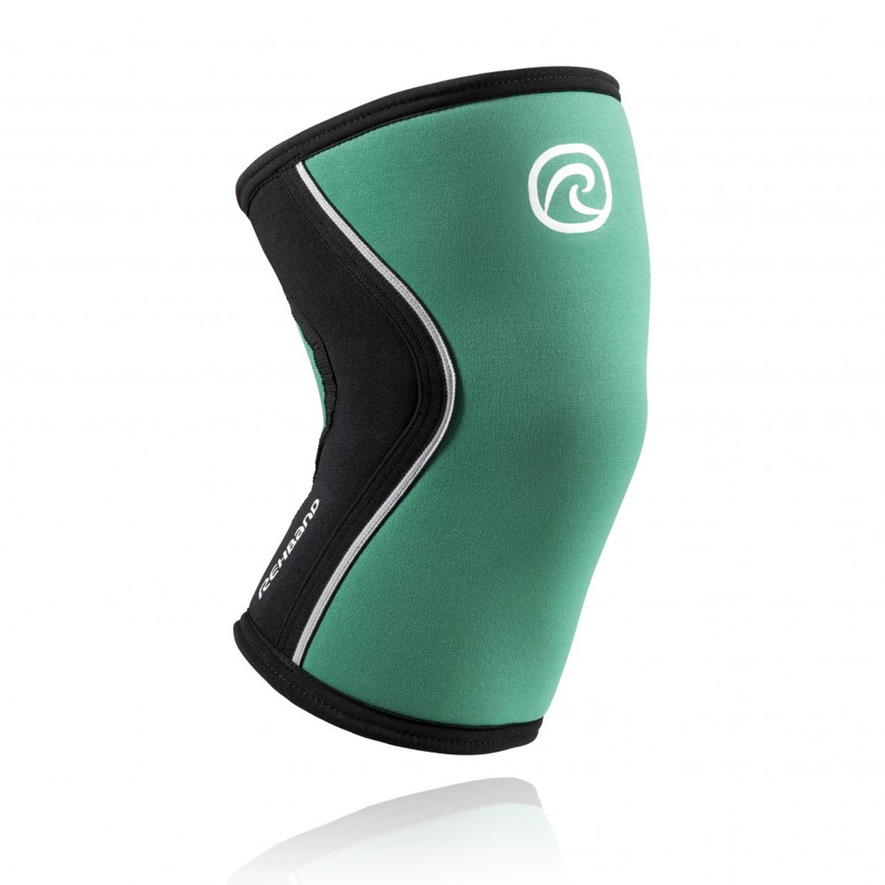Rehband RX Line 7mm Black Knee Cap CrossFit Rich Froning series