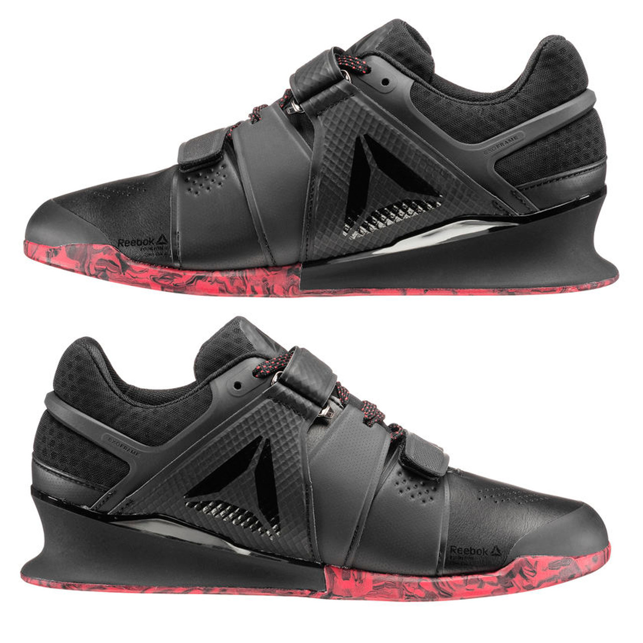 Siete analizar Azul  MEN CROSSFIT REEBOK | LEGACY LIFTER SHOE | BLACK/PRIMAL RED - Battle Box UK