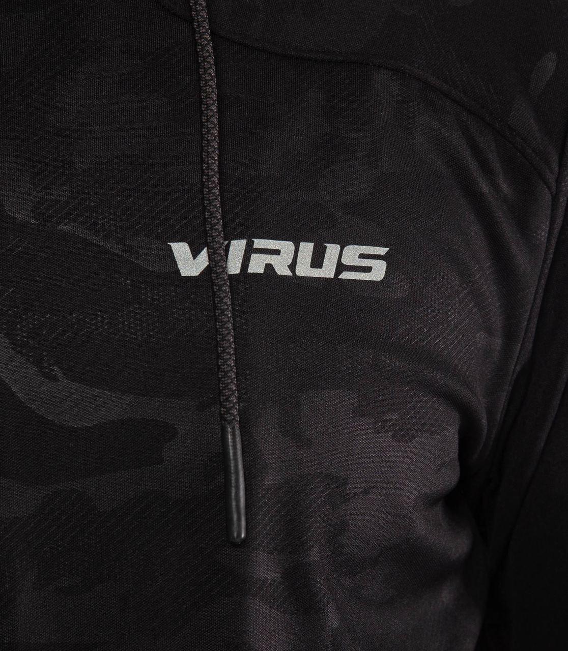 Olive Virus Mens BioFleet Full Zip Training Jacket Crossfit Open AU17 Gym