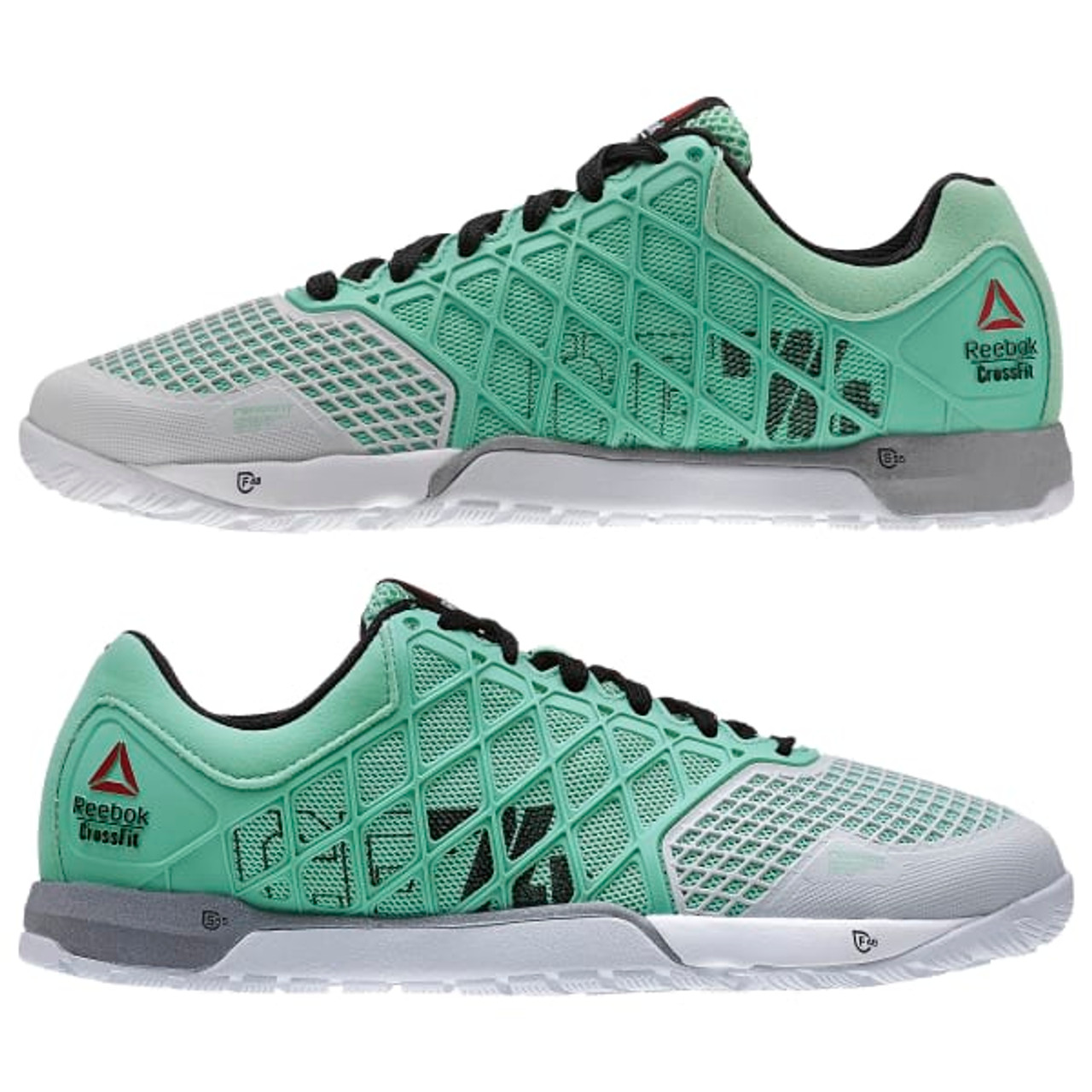 REEBOK CROSSFIT NANO 4.0 Women Mint Glow Porcelain Black