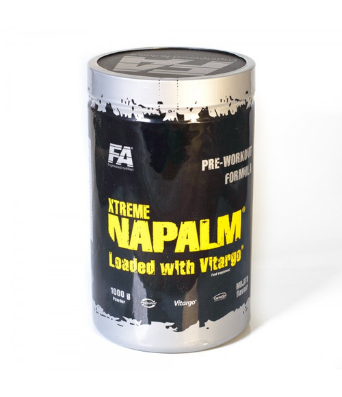 FA ENGINEERED NUTRITION XTREME NAPALM® LOADED WITH VITARGO® PRE-WORKOUT