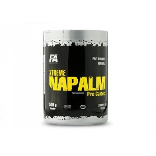 FA ENGINEERED NUTRITION XTREME NAPALM®PRE-CONTEST 500G