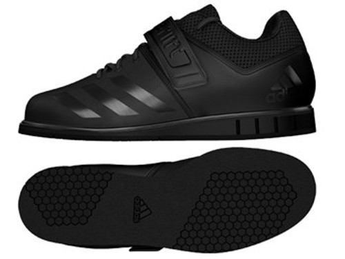 Adidas Powerlift 3 Black www.battleboxuk.com