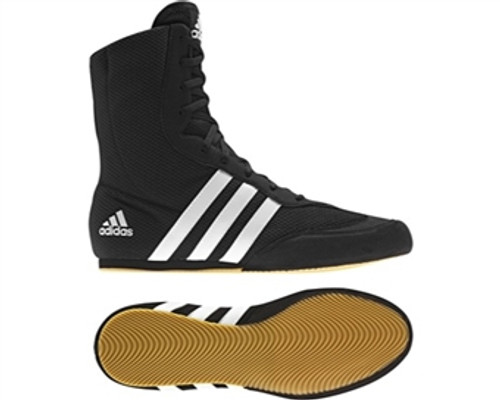Adidas Box Hog 2 BlackWhite Boxing Lightweight Boots (G97067)