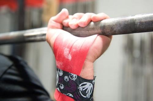 "The Natural Grip Combo ""Grip+ Goat Tape Roll"" Red  - www.BattleBoxUk.com"