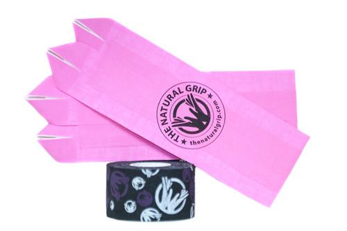 "The Natural Grip Combo ""Grip+ Goat Tape Roll"" Pink  - www.BattleBoxUk.com"