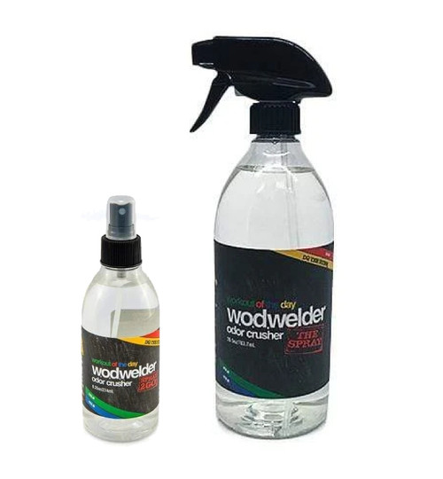 w.o.d.welder Odour Crusher Spray 9.25oz/ 275ml or 26.5oz / 750ml - www.BattleBoxUk.com
