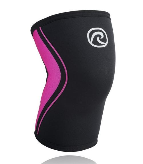 Rehband Core Line Camille Leblanc RX Knee Sleeve 3mm Pink Black - www.battlleboxuk.com