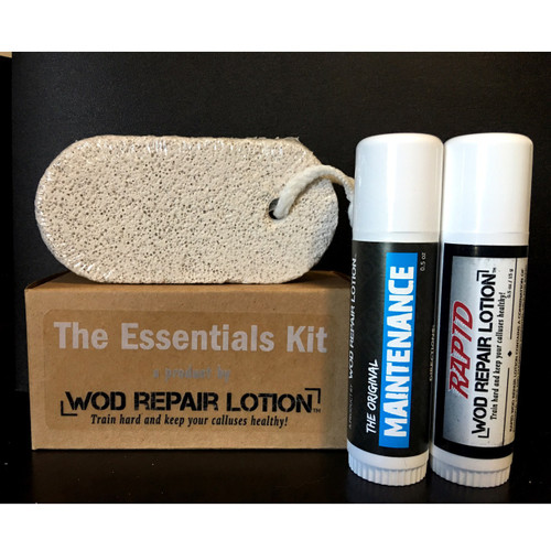WOD Repair Lotion - THE ESSENTIALS KIT - www.BattleBoxUK.com