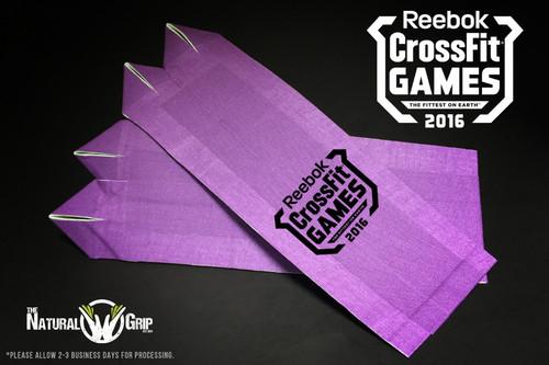 "CrossFit Games Natural Grip Combo ""Grip+ Goat Tape Roll"" Purple www.battleboxuk.com"