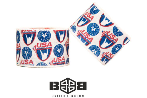 Goat Tape USA Weightlifting Scary Sticky  - www.BattleBoxUk.com
