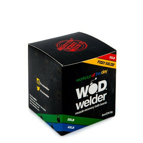 W.O.D. Welder Muscle Recovery Bath Bomb WOD - www.BattleBoxUk.com