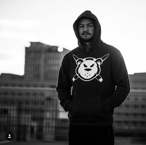 Killer Cub Swanson Virus Men's Signature Pull Over Hoodie www.battleboxuk.com