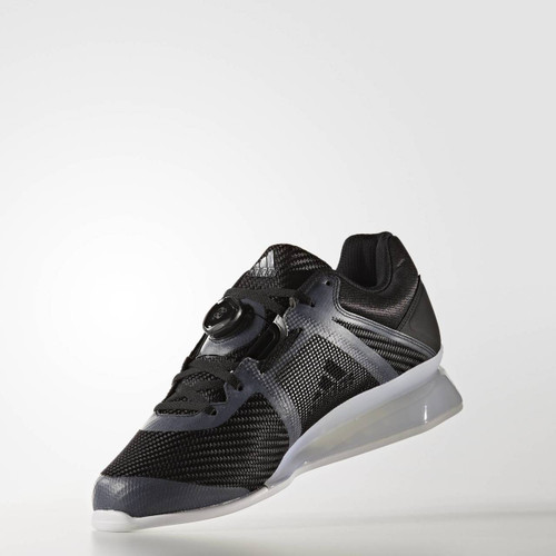 Adidas Leistung 16 II Black Weightlifting Shoe