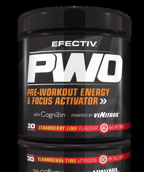EFECTIV Sport Nutrition PWO Pre-Workout Energy & Focus Activator www.battleboxuk.com