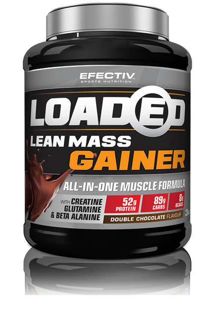 EFECTIV Loaded Lean Mass Gainer www.battleboxuk.com