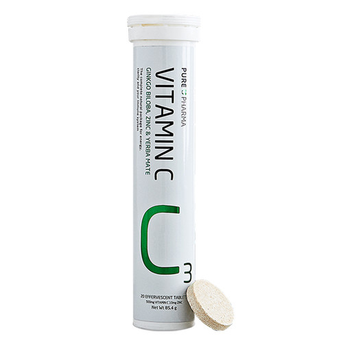 PurePharma C3 Vitamin C for Energy, Immune Support and Focus - www.BattleBoxUk.com