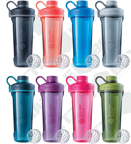 BlenderBottle® Radian® Tritan® Protein Shaker 32oz 940ml Water Blender Bottle (Radian_Tritan) - www.BattleBoxUk.com