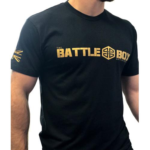 BattleBox UK™ Black & Gold Tee  - www.BattleBoxUk.com