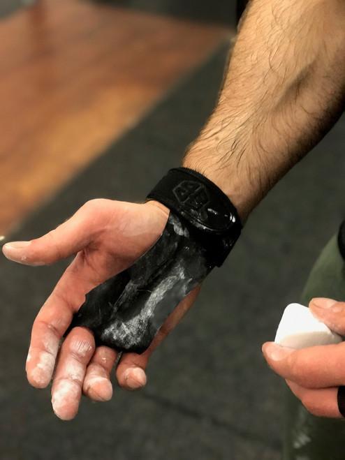 BattleBox UK™ Extra Thin Kangaroo Leather Gymnastic Grips www.BattleBoxUk.com