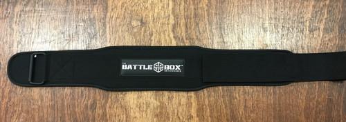 """BattleBox UK™ Light WOD Weightlifting Belt 4"""" www.BattleBoxUk.com"""