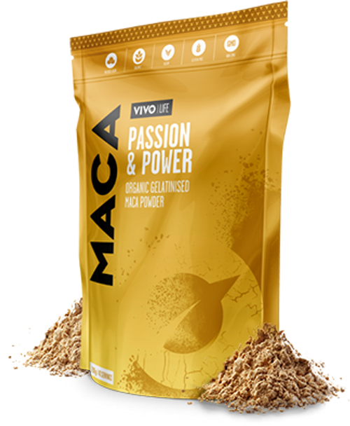 Vivo Life MACA INCREASE YOUR ENERGY, BALANCE YOUR HORMONES AND UPGRADE YOUR MOOD WITH THE POWER www.BattleBoxUk.com