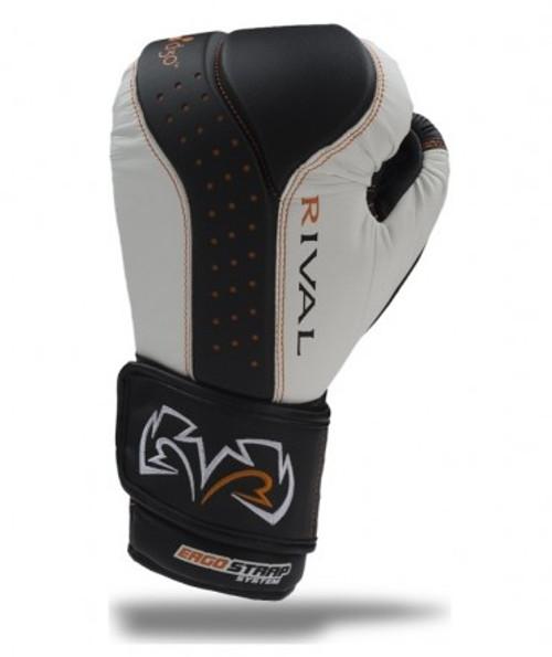 CrossTrainingUK - Rival Boxing RB10-d3o™ INTELI-SHOCK Boxing Bag Gloves Black/White