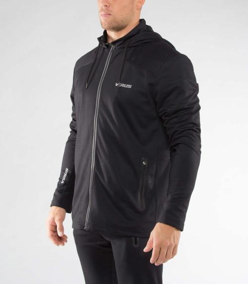 Virus Men Biofleet Training Full Zip Jacket Black AU17 - www.BattleBoxUK.com