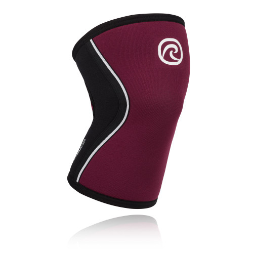 REHBAND RX KNEE SUPPORT 5MM BURGUNDY SLEEVE  - www.BattleBoxUk.com