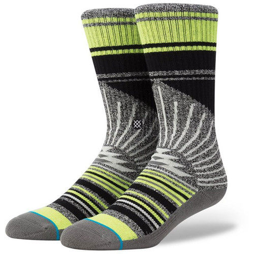 "STANCE ""ARECIBO GREY"" SOCKS M311C15ARE - www.BattleboxUk.com"