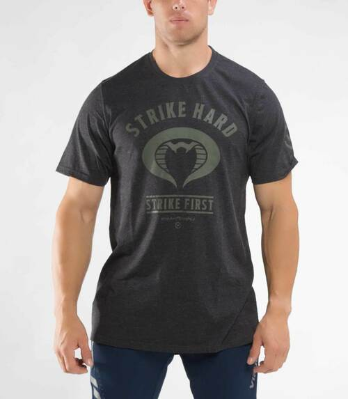 VIRUS + T.J. DILLASHAW STRIKE FIRST- HEATHER BLACK (PC33) UFC WWW.BATTLEBOXUK.COM