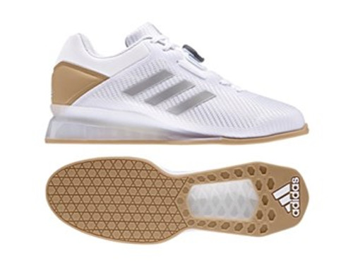 Adidas Weightlifting Leistung.16 II White Shoes CQ1771  www.BattleBoxUk.com