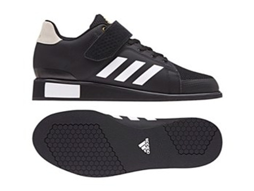 ADIDAS WEIGHTLIFTING POWER PERFECT 3 SHOES (BB6363)  www.BattleBoxUk.com