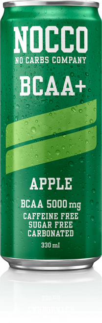 NOCCO Apple BCAA+ Drink non Caffeine (Pack of 6,12 or 24 cans)-  www.BattleBoxUk.com
