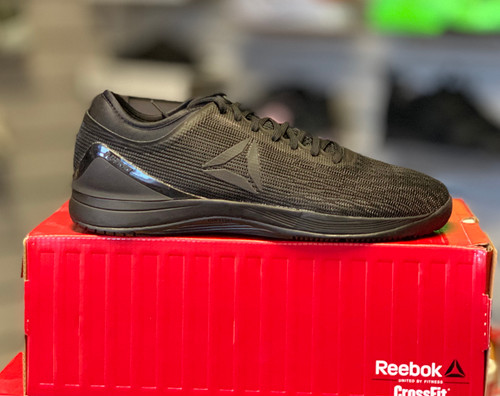 Reebok CrossFit Nano 8.0 Flex Size UK11 US 12 Black Black Black - www.BattleBoxUk.com
