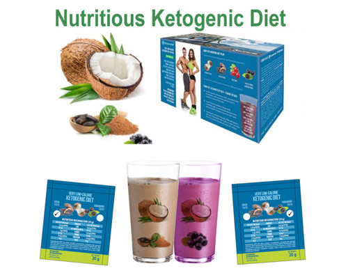 "Islaverde® KETOGENIC DIET ""OPTIMAL KETOSIS"" 523 kcal/day, 10 days Set DIET SHAKE For Weight Loss Fat Burn"