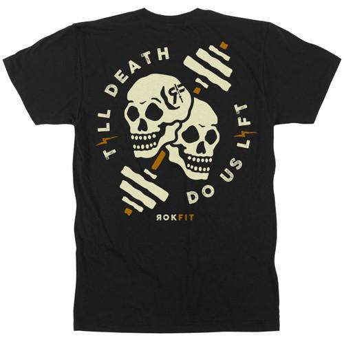 ROKFIT TILL DEATH, DO US LIFT T-shirt  - www.BattleBoxUk.com