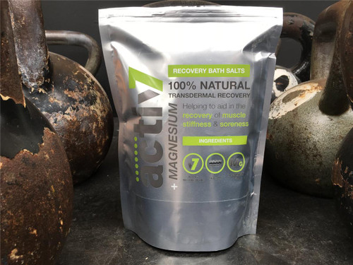 Activ7 + Magnesium Bath Salts Recovery Natural Muscle Preparation Recovery and Maintenance - www.BattleBoxUk.com