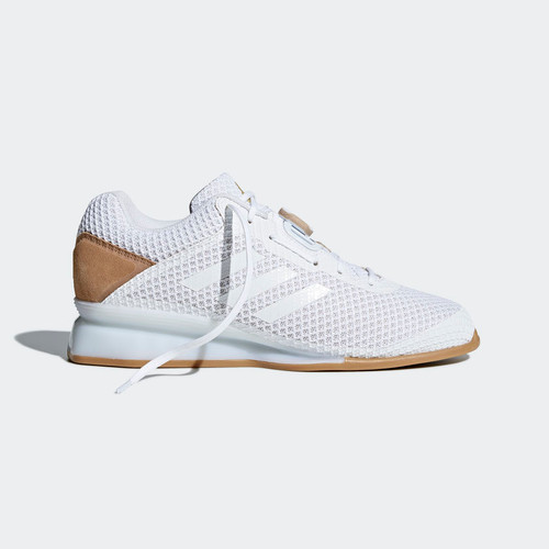 ADIDAS WEIGHTLIFTING LEISTUNG 16 II SHOES FTWR WHITE / FTWR WHITE / GOLD MET