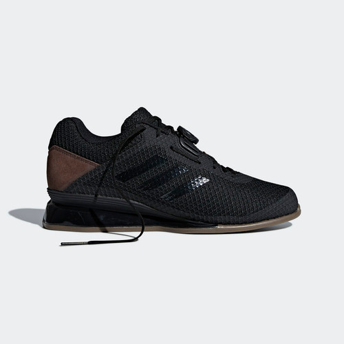ADIDAS WEIGHTLIFTING LEISTUNG 16 II SHOES CORE BLACK / CORE BLACK / CARBON