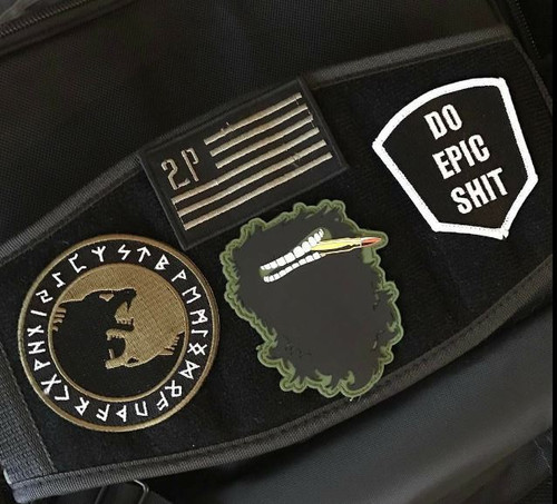 2POOD Velcro Patch Metcon Training Belt (w/ WODclamp®) www.BattleBoxUk.com