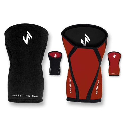 JERKFIT REVERSIBLE KNEE SLEEVES (PAIR) www.battleboxuk.com