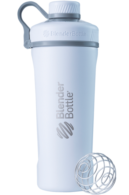 BLENDER BOTTLE® | RADIAN™ INSULATED STAINLESS STEEL | WHITE WWW.BATTLEBOXUK.COM