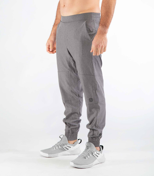 VIRUS MEN'S ST7 | TRIWIRE FITTED PANT | GREY  WWW.BATTLEBOXUK.COM