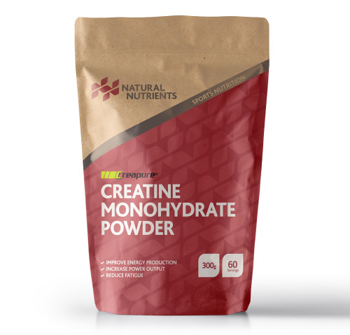 Natural Nutrients | Creapure® Creatine Monohydrate | 300g Powder