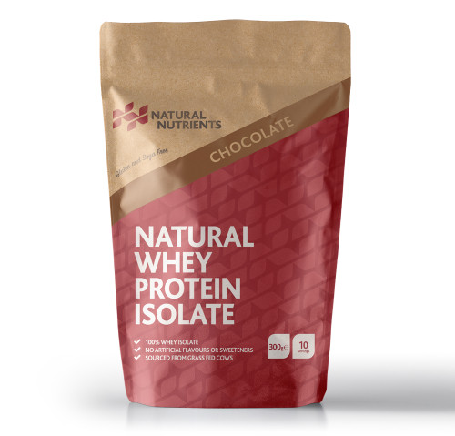 Natural Nutrients | Natural Whey Protein Isolate 300g