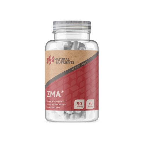 Natural Nutrients | ZMA® Capsules | Sleep & Recovery | 180 Caps