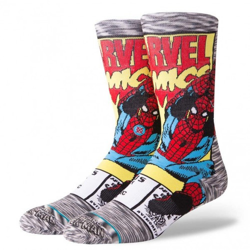 STANCE | MARVEL | SPiDERMAN COMIC (M546D18SPI) - www.BattleBoxUk.com
